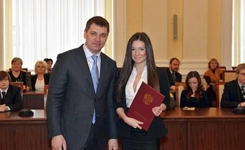 студентка МГИМО Ангелина Дорошенкова