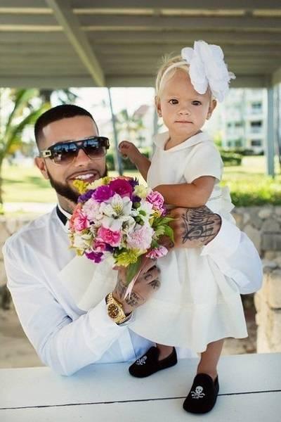 Тимати и его дочь Алиса