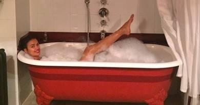 ирина шейк в ванной