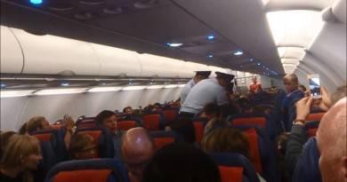 драки в самолёте