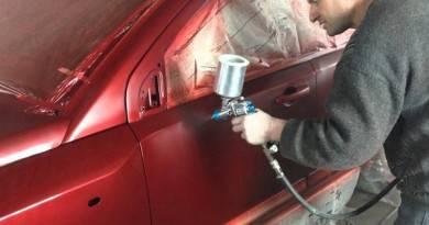 покрытие авто лаком