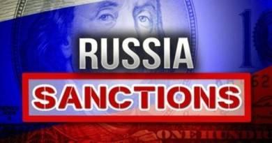 список санкций против россии