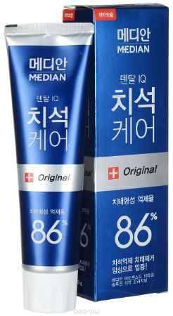 Купить Median Зубная паста Dental IQ Tartar, от зубного камня, 120 г