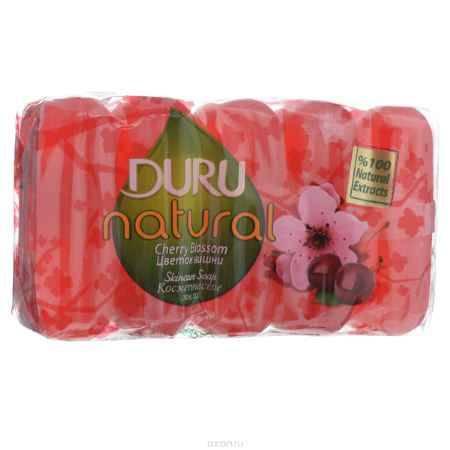 Купить Duru NATURAL Мыло Цветок вишни э/пак 5*70г