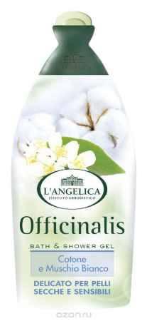 Купить L'angelica (0645) Гель для душа и ванны Белый мускус и Хлопок, 500 мл