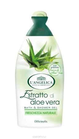 Купить L'angelica (8740) Гель для душа и ванны Алоэ Вера, 500 мл