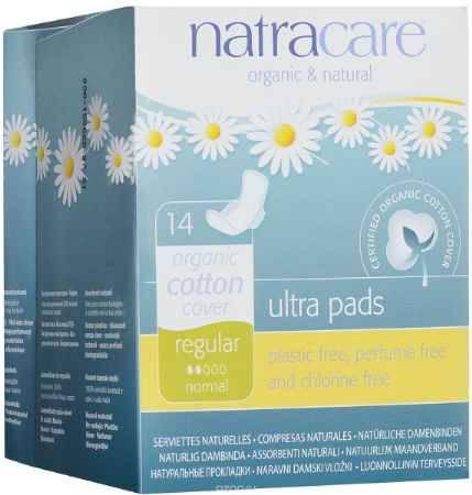 Купить Гигиенические ультратонкие прокладки с крылышками Natracare