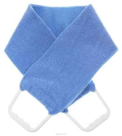 Купить Riffi Мочалка-пояс, двухсторонняя, цвет: голубой. 727