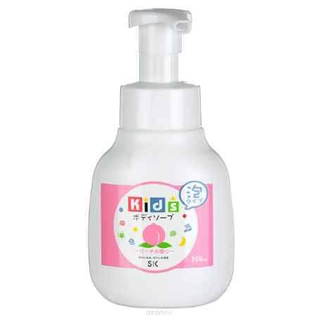 Купить SK Kids Детское пенное мыло для тела с ароматом персика, 300 мл