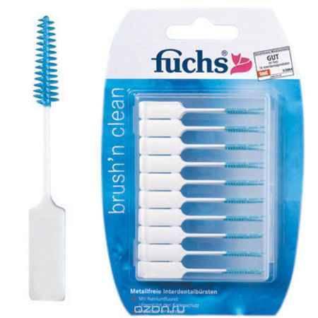 Купить Fuchs Ершики мягкие с зубной пастой, 20 шт
