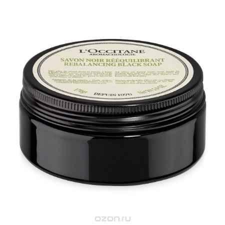 Купить L'Occitane Очищающее черное мыло для тела Аромакология 170 г