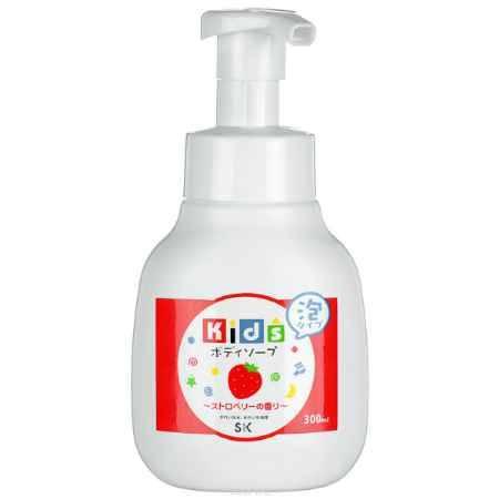 Купить SK Kids Детское пенное мыло для тела с ароматом клубники, 300 мл