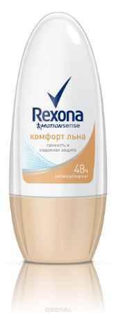 Купить Rexona Motionsense Антиперспирант ролл Комфорт льна 50 мл