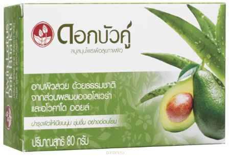 Купить Twin Lotus Мыло с травами, алое вера и авокадо, 80 г