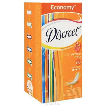 Купить Ежедневные гигиенические прокладки Discreet Multiform