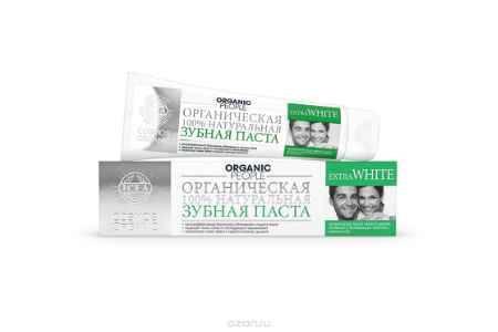 Купить Organic People паста зубная Extra White, 100 мл