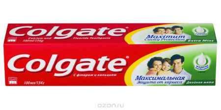 Купить Colgate Зубная паста Максимальная защита от кариеса Двойная мята 100 мл
