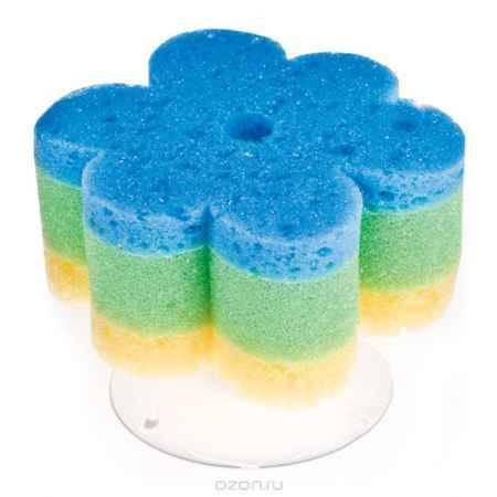 Купить Canpol Babies Губка с присоской для купания цвет голубой желтый зеленый