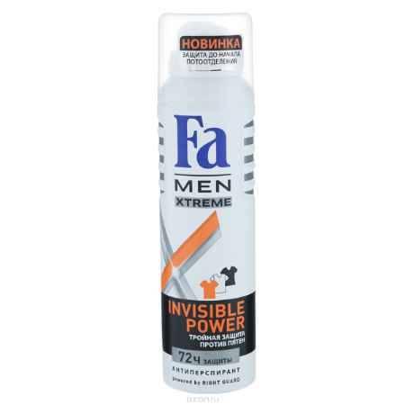 Купить FA MEN Xtreme Дезодорант-аэрозоль Invisible, 150 мл
