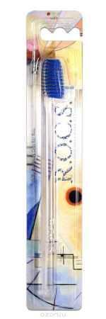 Купить R.O.C.S. Зубная щетка классическая, мягкая