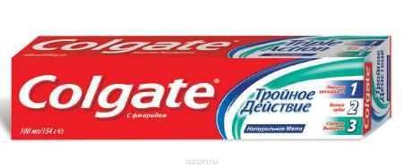 Купить Colgate Зубная паста Тройное действие 100 мл