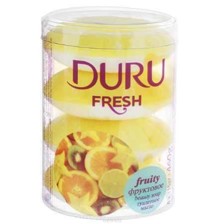 Купить Duru FRESH Мыло Фруктовое э/пак 4*115г