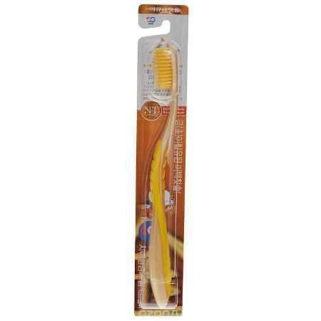 Купить EQ MaxON Зубная щетка, c наночастицами золота, средняя жесткость, цвет в ассортименте