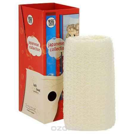 Купить Satico Мочалка на основе натурального хлопка и японской бумаги, жесткость: средняя