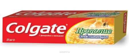 Купить Colgate Зубная паста Прополис отбеливающая 50 гр