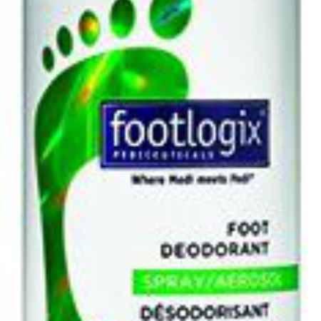 Купить Footlogix Дезодорант для ног с антибактериальным эффектом, 125 мл