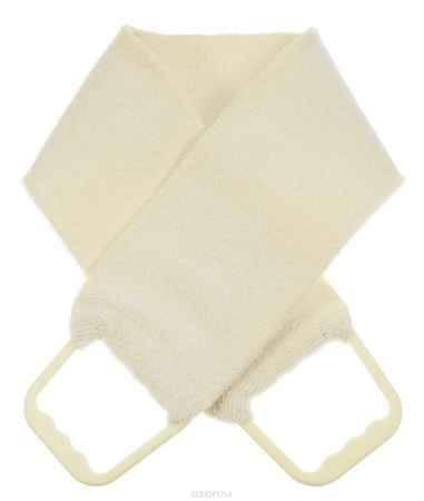 Купить Riffi Мочалка-пояс, двухсторонняя, цвет: молочный. 727