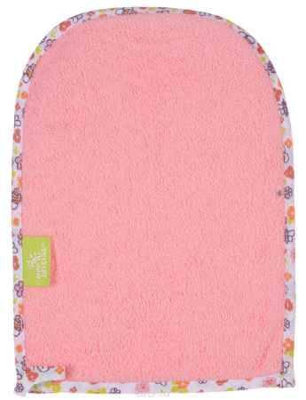 Купить Мир детства Мочалка-варежка цвет розовый