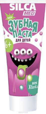 Купить Silca Med Зубная паста гелевая со вкусом жвачки с 6 лет