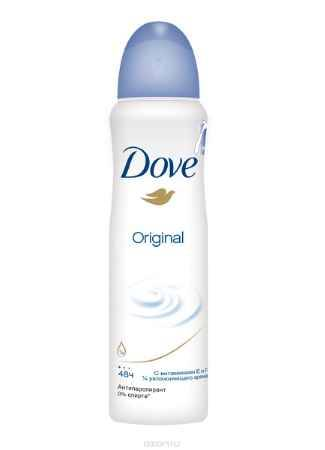 Купить Dove Антиперспирант аэрозоль Оригинал 150 мл