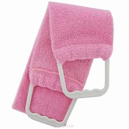 Купить Riffi Мочалка-пояс, двухсторонняя, цвет: розовый. 727