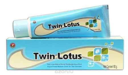 Купить Twin Lotus Зубная паста с натуральными травами, 100 г