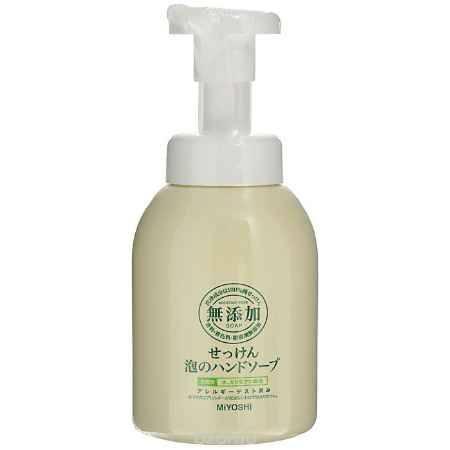 Купить Miyoshi Пенящееся жидкое мыло для рук, на основе натуральных компонентов, 250 мл