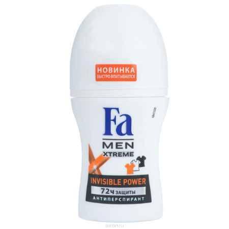 Купить FA MEN Xtreme Дезодорант роликовый Invisible, 50 мл