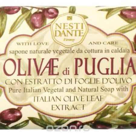 Купить Nesti Dante Мыло Olivae di Puglia - Олива из Апулии 150г