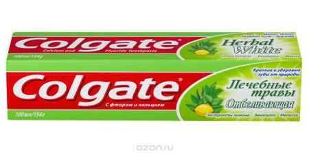 Купить Colgate Зубная паста Лечебные травы отбеливающая 100 мл