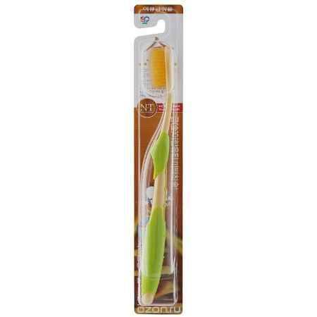 Купить EQ MaxON Зубная щетка c наночастицами золота, сверхтонкой двойной щетиной, средняя жесткость, в ассортименте