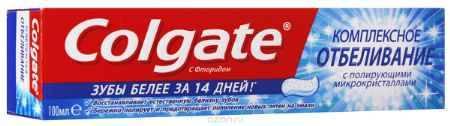Купить Colgate Зубная паста Комплексная отбеливающая 100 мл
