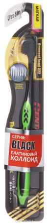 Купить Dentalpro Зубная щетка Black Ultra Slim мягкая, цвет: салатовый