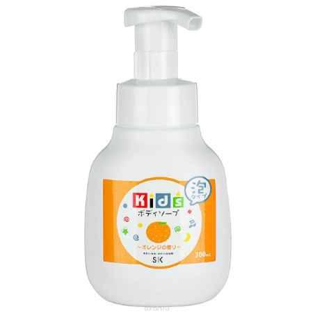 Купить SK Kids Детское пенное мыло для тела с ароматом апельсина, 300 мл