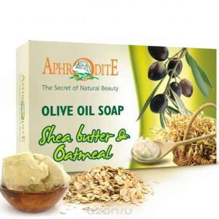 Купить Aphrodite Мыло оливковое с маслом ши и овсянкой, 100 г