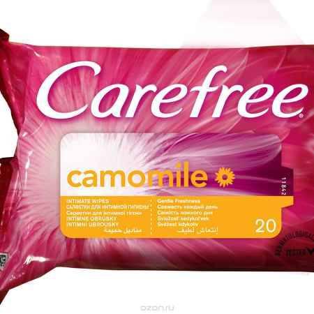 Купить Carefree Салфетки влажные