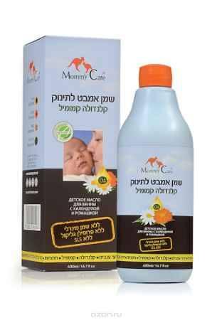 Купить Mommy Care Детское масло для ванны с календулой и ромашкой 400 мл