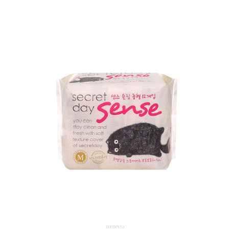 Купить Secret Day Ультратонкие дышащие органические прокладки Secret Day Sense Medium 12 шт(24cm).