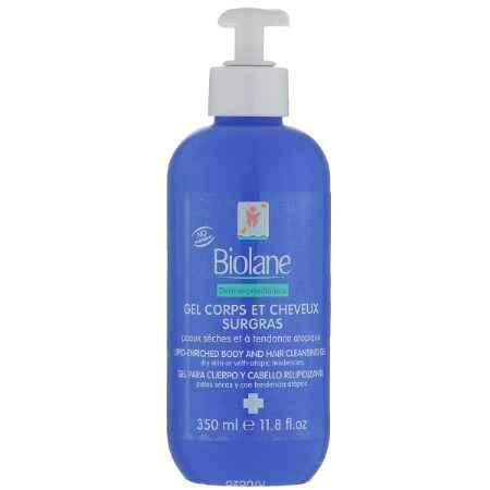 Купить Biolane Детский очищающий гель для тела и волос