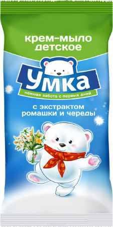 Купить Умка Детское мыло с экстрактом ромашки и череды 80 г